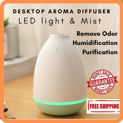 USB Essential Oil Diffuser Ultrasonic Humidifier with 7 Color LED Light Auto Changing