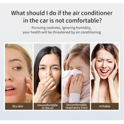 Ultrasonic Smart Mist Air Humidifier Aromatherapy Essential Oil Car Diffuser Humidifier air purifier 50ml
