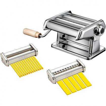 TITANIA Italy Pasta Noodle Maker High Quality Stainless Steel - Lasagna Fettuccine Spaghetti Linguine Papperdalle