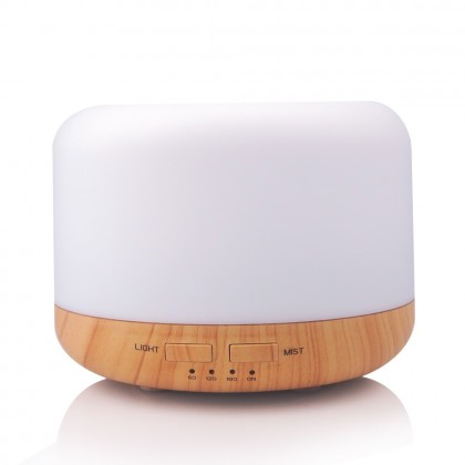 Calm & Relax (Sphere Wooden Diffuser + Lavender Essential Oil)