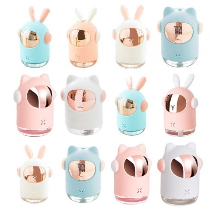 New wireless space rabbit humidifier USB charging large capacity 300ml