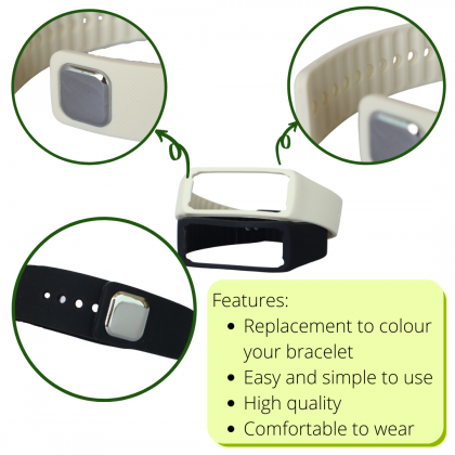 Smart Watch Colourful Replacement Band Silicone Waterproof Multipurpose Wearable Wristband
